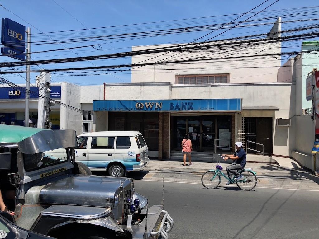 オウン銀行の本店